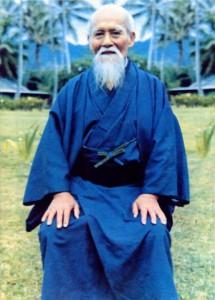 Основатель айкидо Морихэй Уэсиба