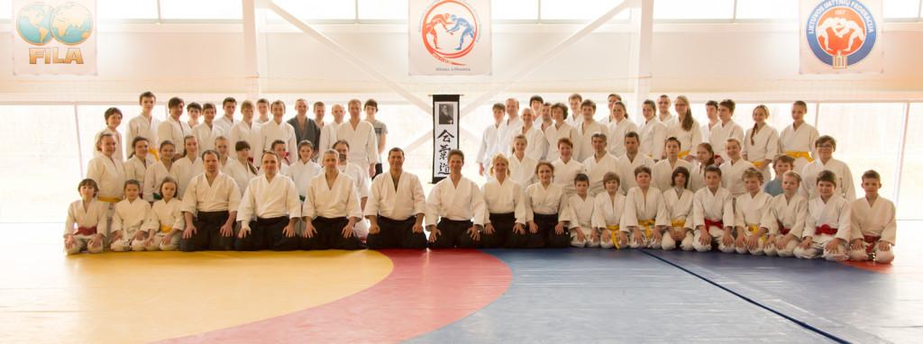 Региональный семинар по айкидо Айкикай под руководством Грачёва В. И., Вильнюс, Литва