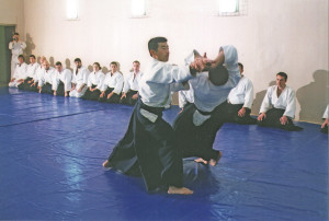 Международный семинар по айкидо Айкикай под руководством С. Сэки (8 дан, Япония) в Койнобори Додзё (Москва)