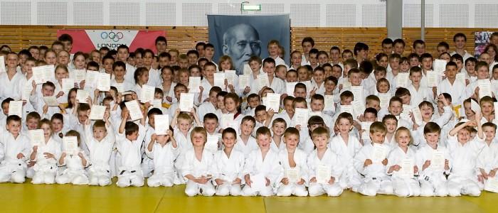 Общее фото с детского семинара