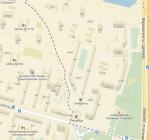 Схема прохода от ст. метро »Чертановская» к МЦБИ на Варшавке