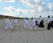 Участники летнего айкидо-лагеря в Литве 2012 года