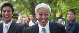 Поздравление с 25-летием от айкидо досю