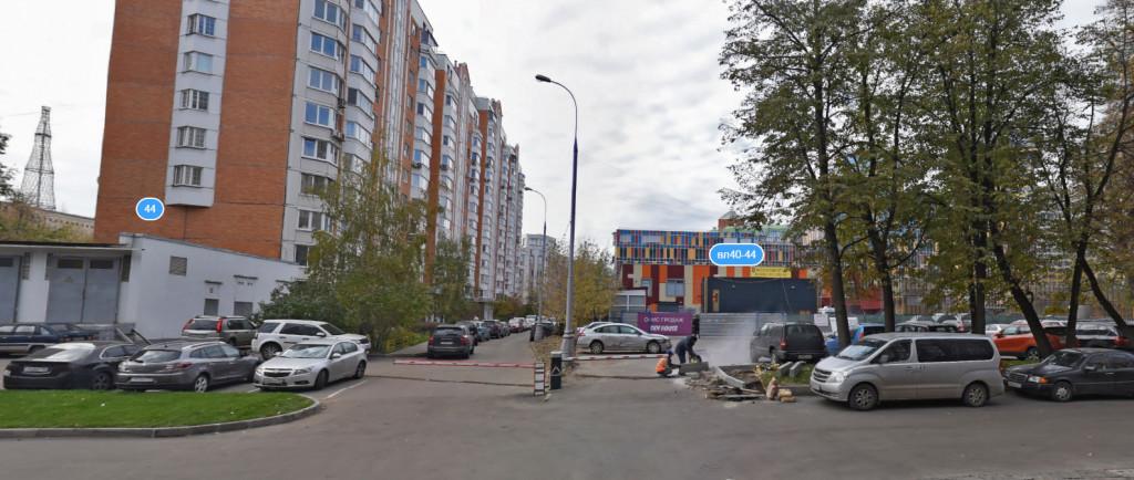 Проход к с/к ''Шаболовка'' со стороны Мытной улицы