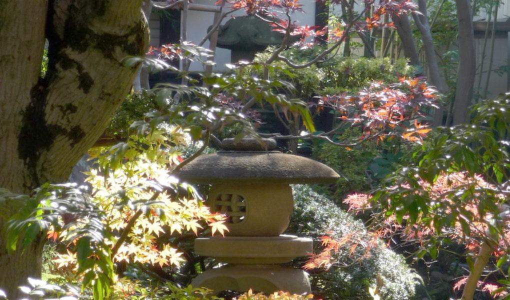 Каменный светильник ишидоро