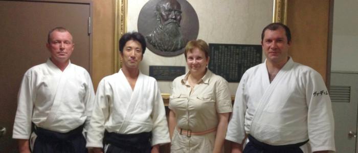 Совместная стажировка в Японии