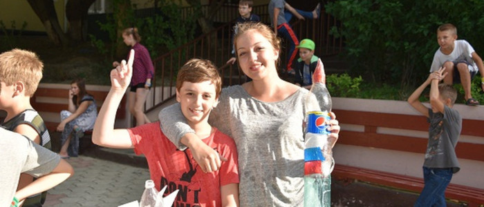 Летний лагерь в Анапе-2016, день девятый