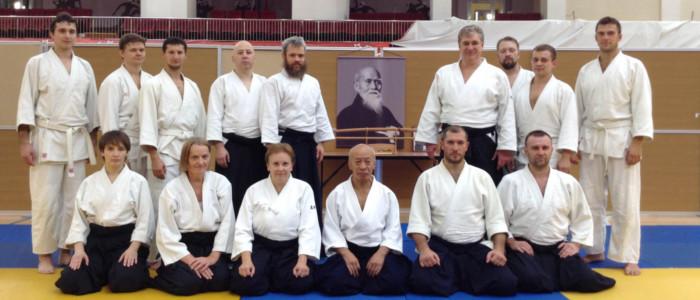 В Москве прошел семинар Осава сихана, 7 дан айкидо
