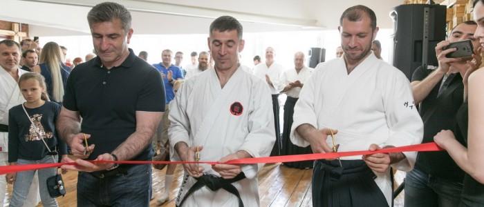 Фотоотчет об открытии нового зала айкидо в Ростове-на-Дону