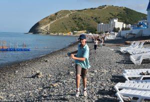 Детский спортивно-оздоровительный айкидо-лагерь на море, пробежка