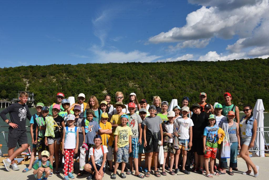 Детский спортивно-оздоровительный айкидо-лагерь на море, экскурсия