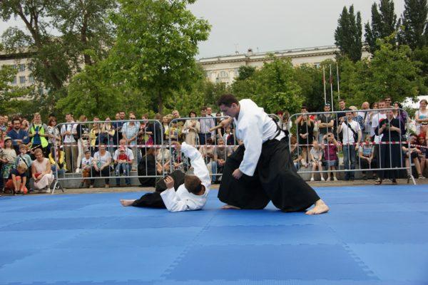 Показательные выступления по айкидо команды Койнобори Додзё