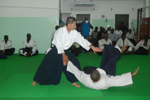 Сэки сихан на международном семинаре в Конго