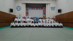 фото с XXIV международного семинара по айкидо Айкикай сихана С. Сэки, 8 дан