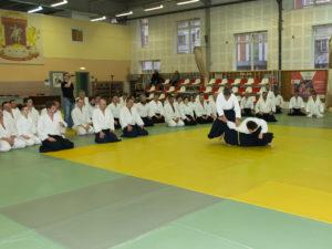 ХХIV семинар С. Сэки сихана (8 дан) в Москве