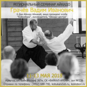 Семинар В.И. Грачева (6 дан) в Иркутске