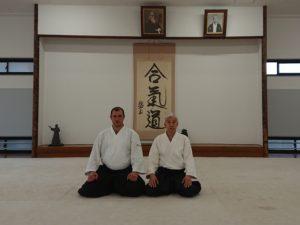 Стажировка вице-президента Койнобори Додзё В.И.Грачёва 6 дан в Японии