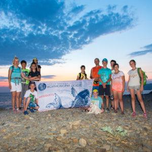 Детский айкидо лагерь Койнобори Додзё на море
