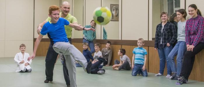 Встреча участников детского летнего лагеря по айкидо