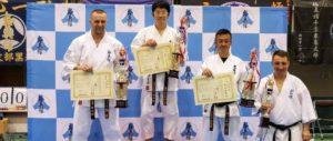 Поздравляем М.Ю. Сафонова с победой (2 место) на чемпионате по Кёкусин каратэ в Японии!