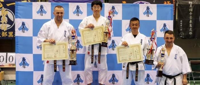 Поздравляем М.Ю. Сафонова с победой (2 место) на чемпионате Японии по Кёкусин каратэ!