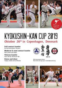 Постер I Открытого Кубка Дании по Кёкусинкан каратэ