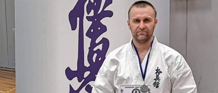 Поздравляем М.Ю. Сафонова с победой по Кёкусин-кан каратэ-до!