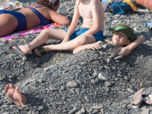 Детский лагерь Койнобори Додзё на Черном море, лето 2019