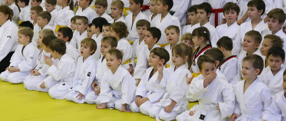 Детский семинар в Койнобори Додзё