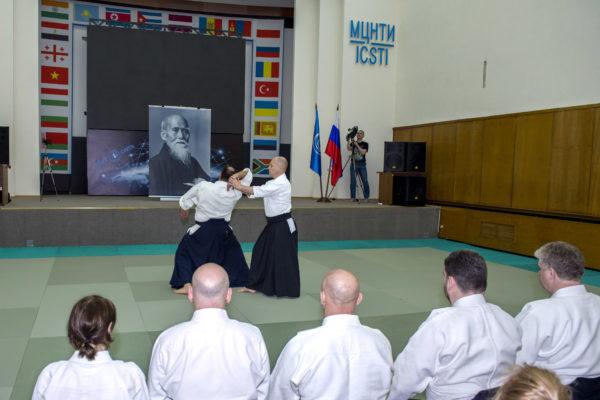 Мастер-класс С.В.Кириенко (5 дан Айкидо АЙКИКАЙ)